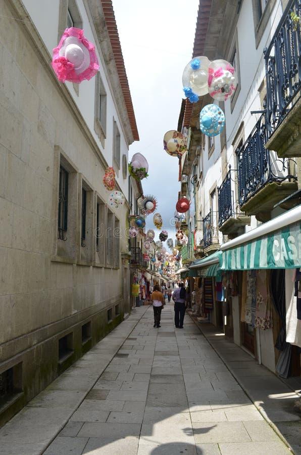 Valença hace la escena de Miño foto de archivo libre de regalías