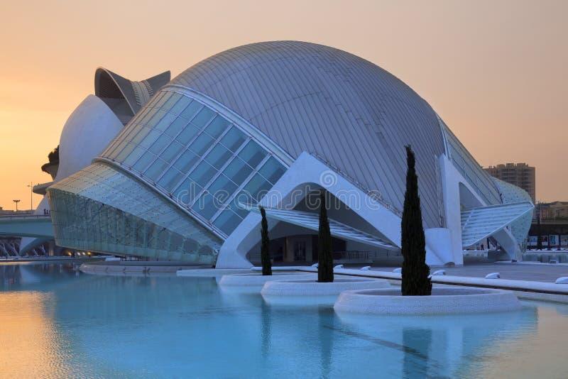 Valença - cidade das artes & das ciências - Spain fotos de stock royalty free