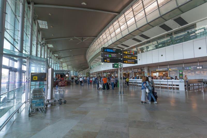 Valencia Airport imagen de archivo