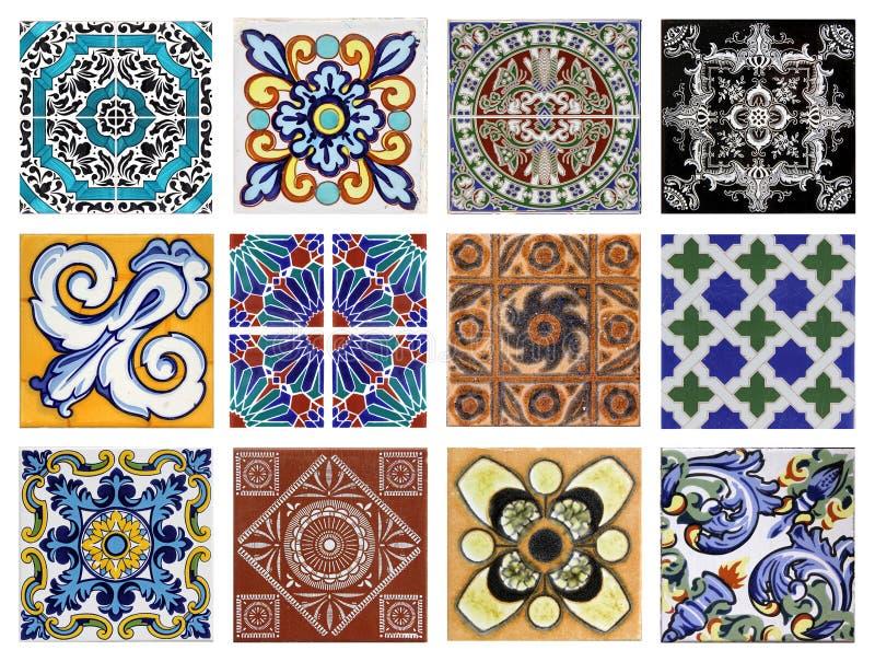 Valencia azulejos royaltyfri fotografi