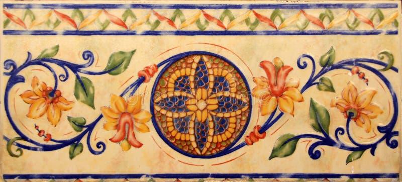 Valencia azulejos arkivbilder