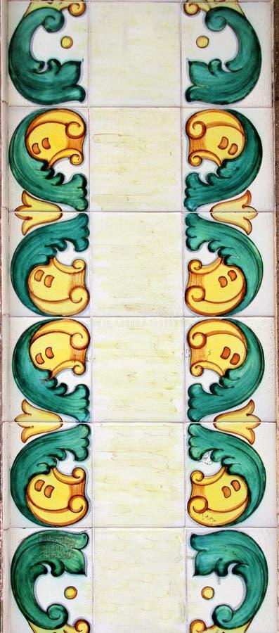 Valencia azulejos arkivfoto