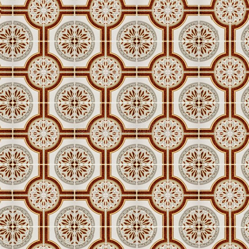 Valencia azulejos royaltyfri illustrationer