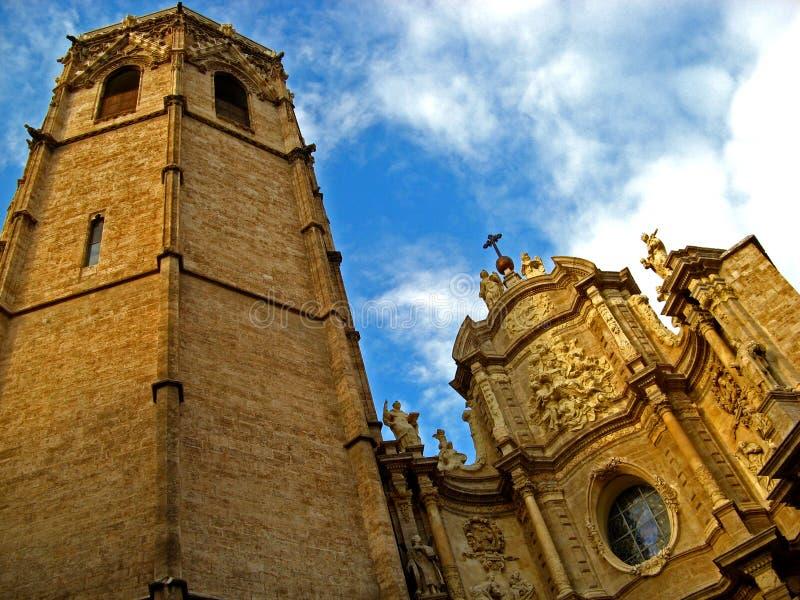 Valencia, Cathedral 03 royalty free stock photo