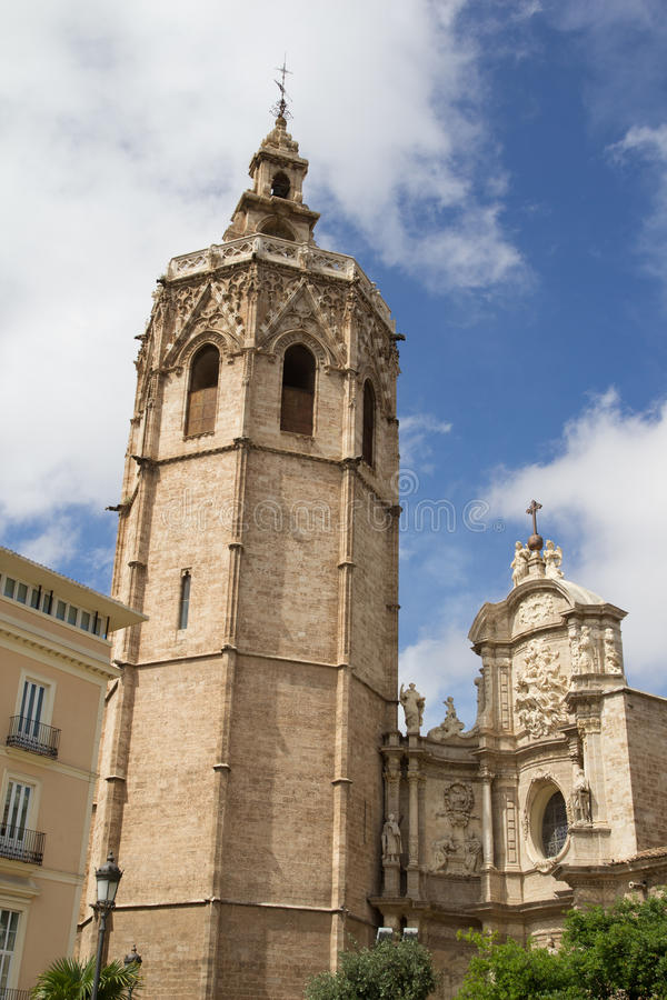 Download Valencia Cathedral stock image. Image of miguelete, famous - 19269995