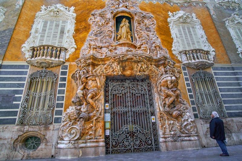 Valencia Ceramics Museum Gonzalez Marti arkivbild