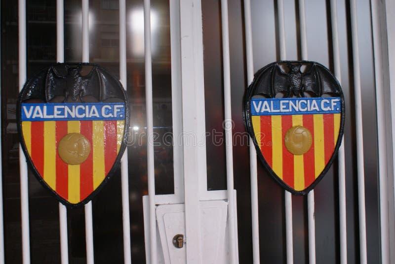 Valencia CF - stade de Mestalla photos stock