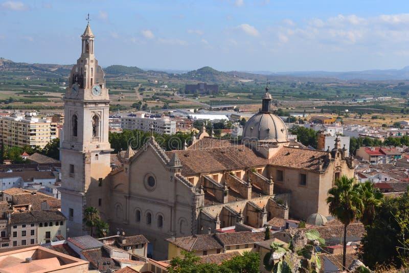 Valencia City Catedral imagem de stock