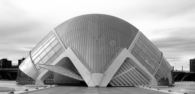 Valencia City di arte e di scienza immagini stock