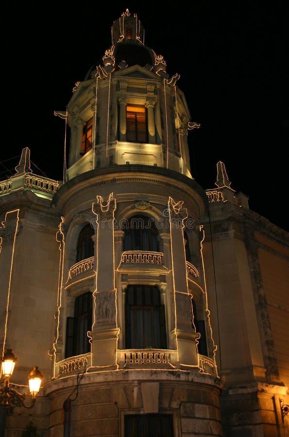 Valencia City Hall royalty free stock photography