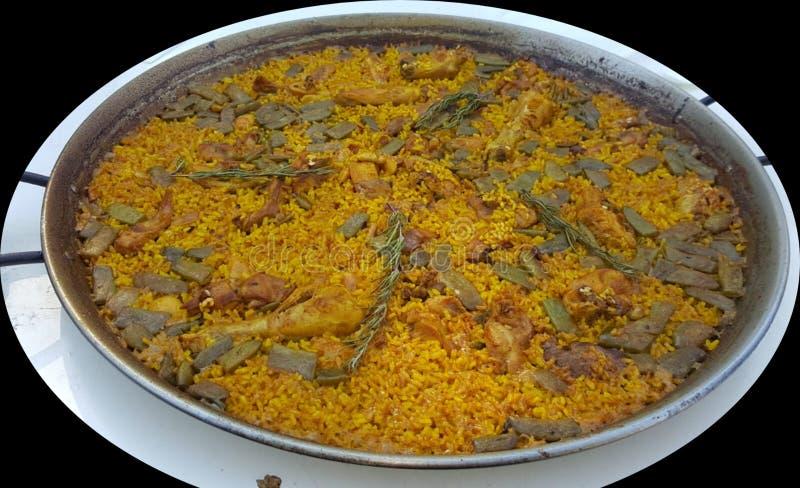 Valencia de arroz gastronómico imagenes de archivo