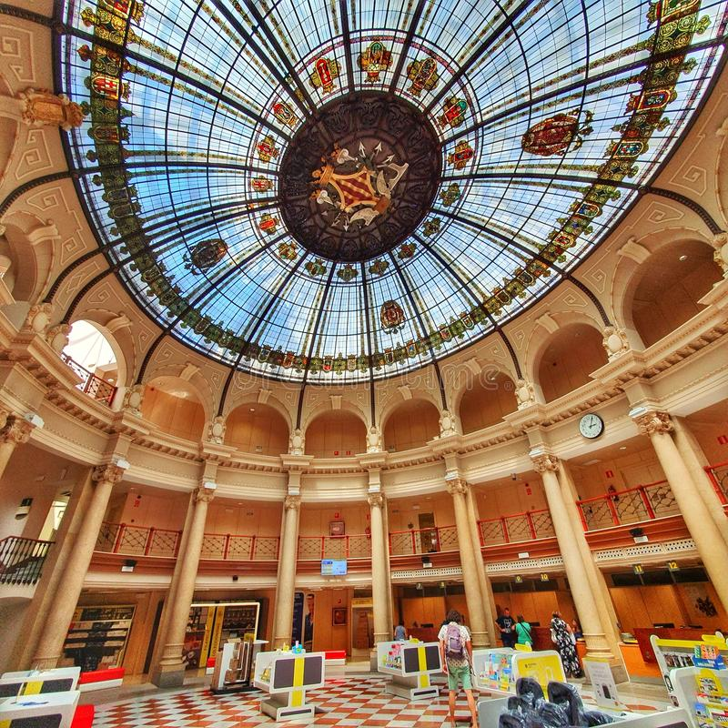 Free Valencia Espania Spain Post Office Old Ancient Buildings Royalty Free Stock Photos - 165397828