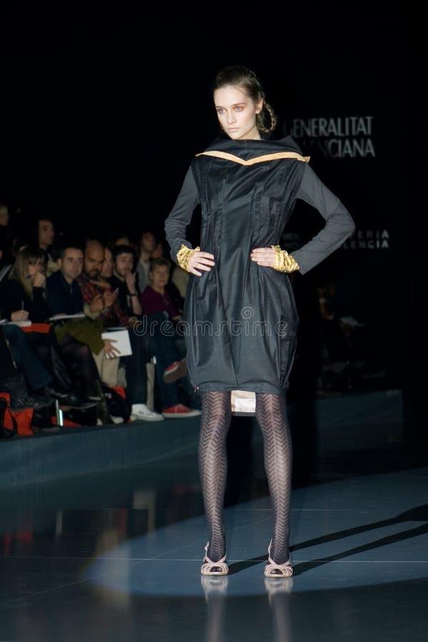 Valencia Fashion Week stock photography
