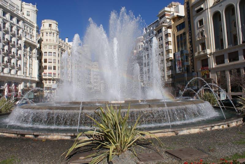Valencia Fountain images libres de droits