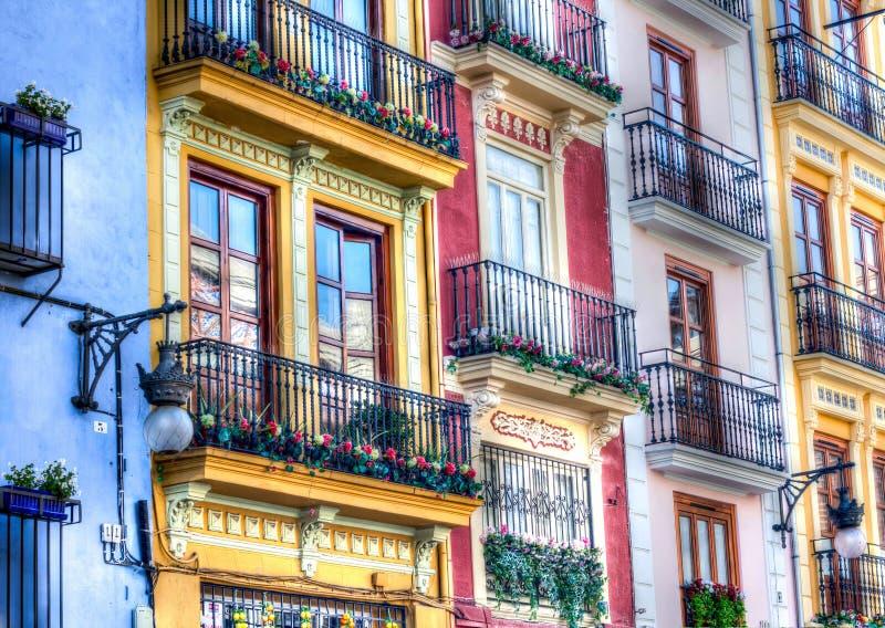 Valencia-Gebäude stockbilder
