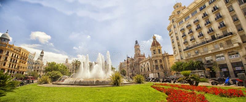 Valencia juni, 2017 royaltyfri foto