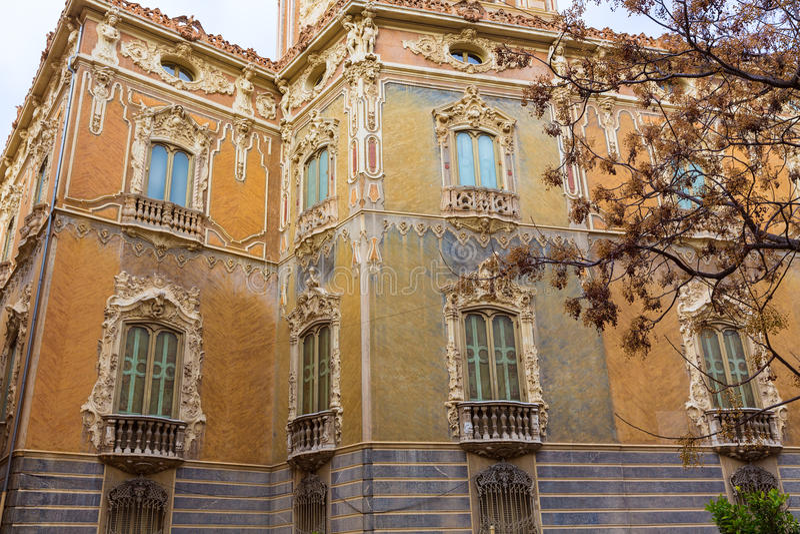 Valencia Palacio Marques de Dos Aguas palace stock images