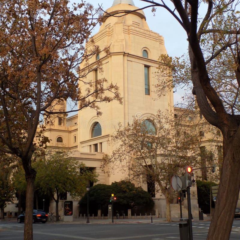 Valencia - rector de la universidad foto de archivo libre de regalías