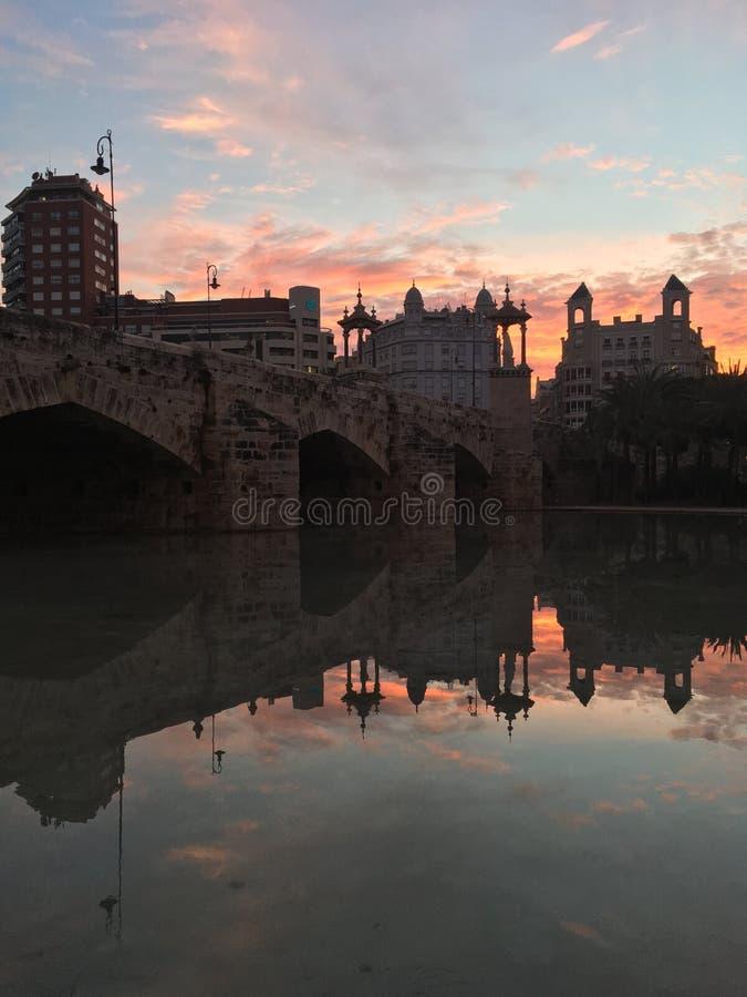 Valencia_Reflect стоковое фото