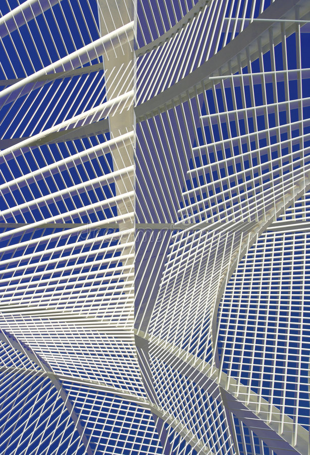 Valencia science centre royalty free stock image