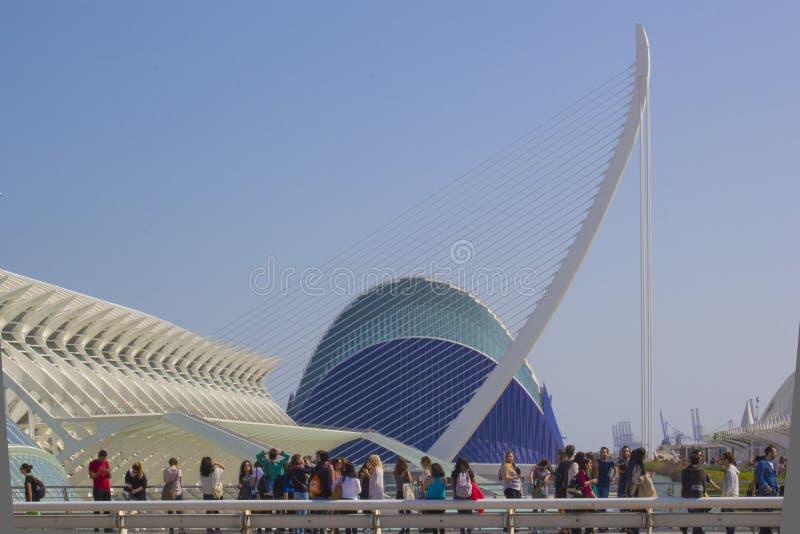 Valencia Shapes Editorial Stock Photo