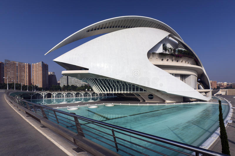 Download Valencia - Spain editorial photo. Image of sciences, reflection - 26610381