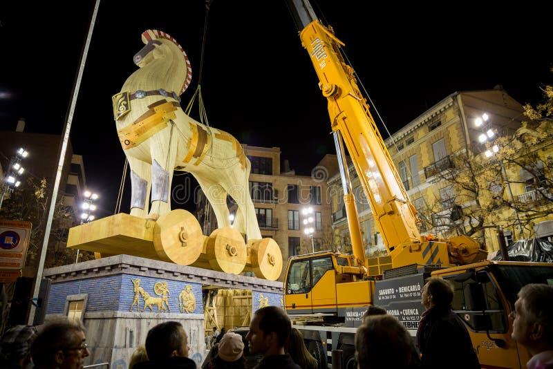 Download Valencia In Fallas Editorial Image - Image: 29733400