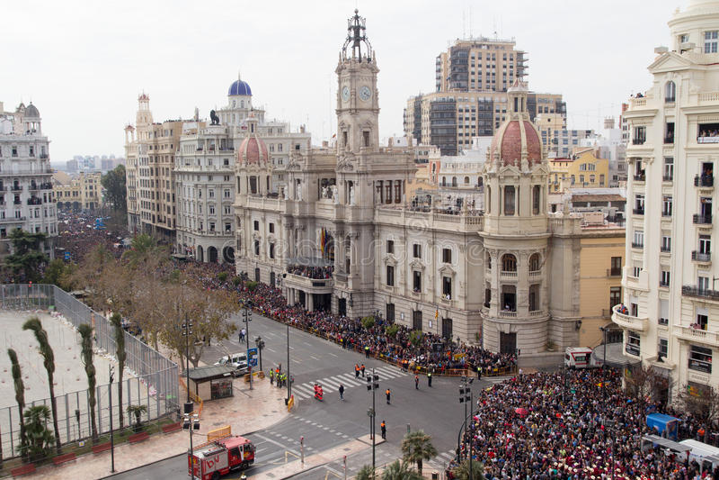 Valencia Spanien lizenzfreie stockfotos