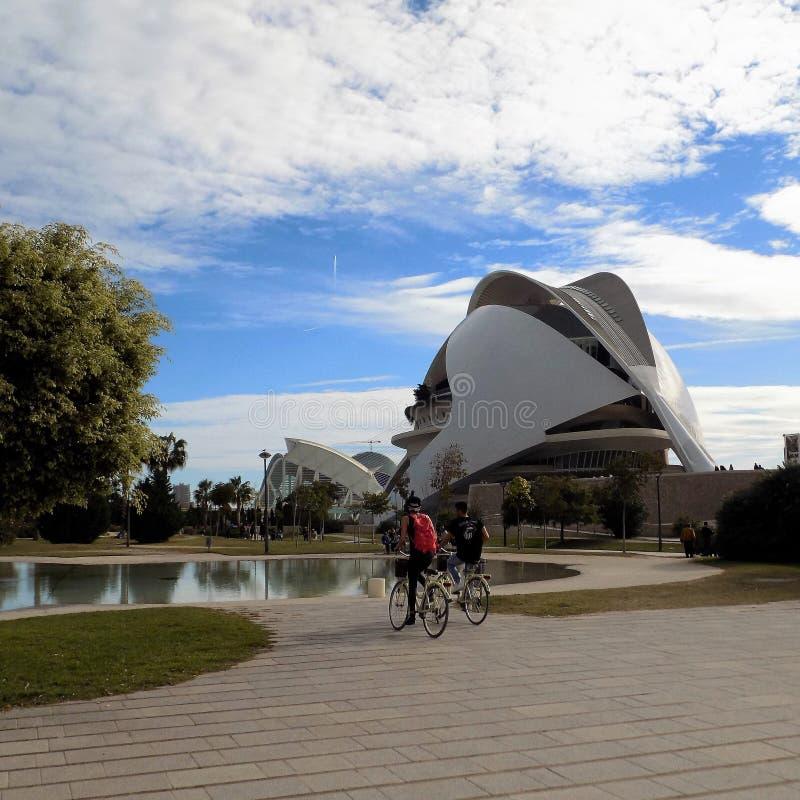 Valencia - stad av konster och vetenskaper arkivbilder