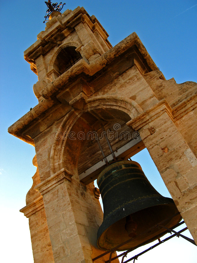 Valencia, torre 02 de Miguelete imágenes de archivo libres de regalías