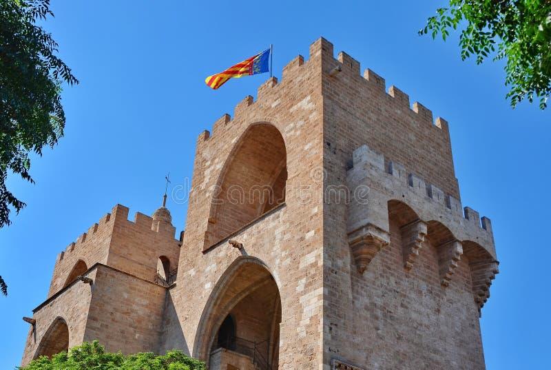 Valencia Tower stock afbeeldingen