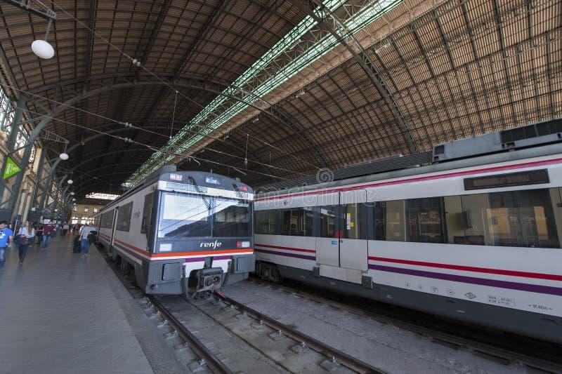 Valencia Train Station imagem de stock