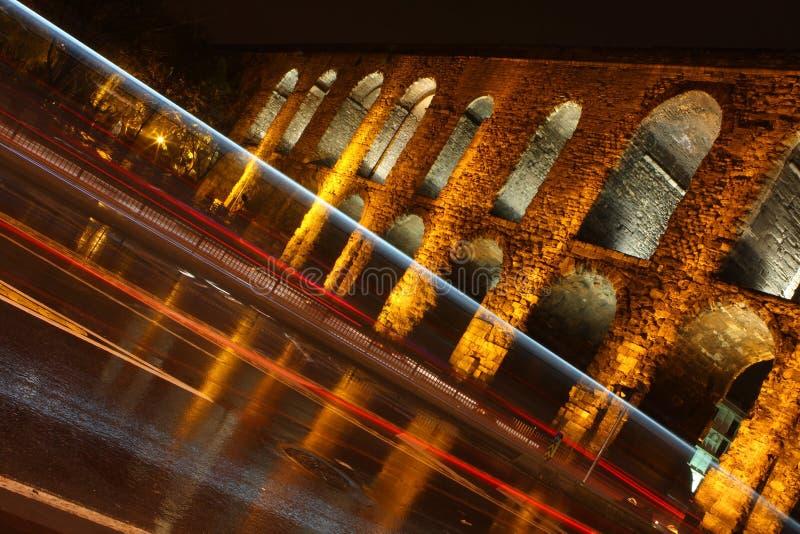 valens мост-водовода стоковые изображения rf