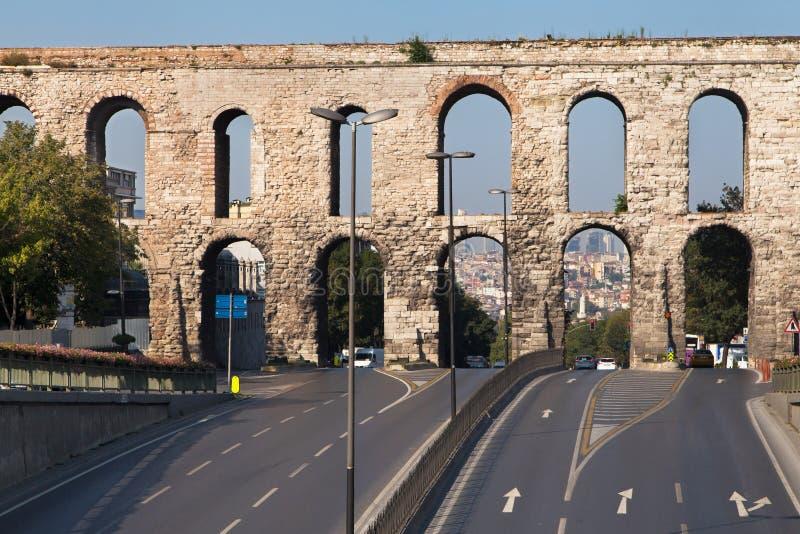 Valens-Aquädukt lizenzfreies stockfoto