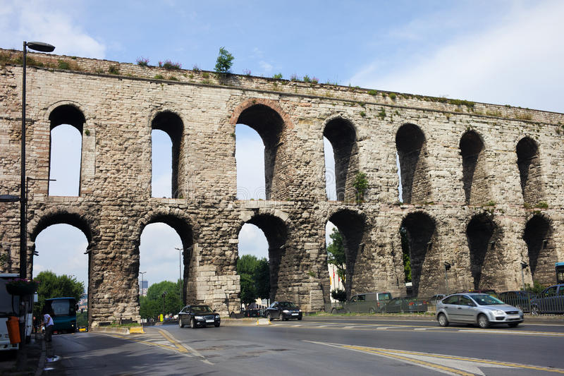 valens istanbul мост-водовода стоковые фото