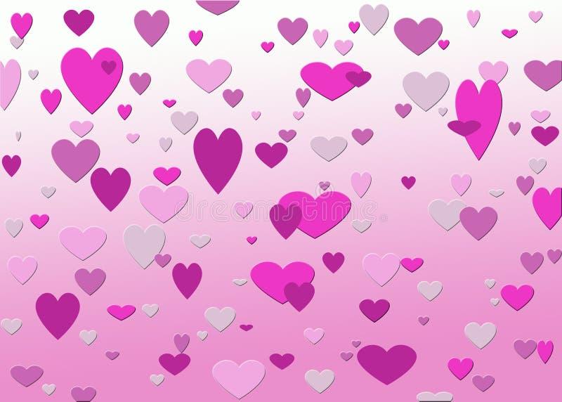 Download Valentijnskaart stock illustratie. Illustratie bestaande uit kunstwerk - 296780