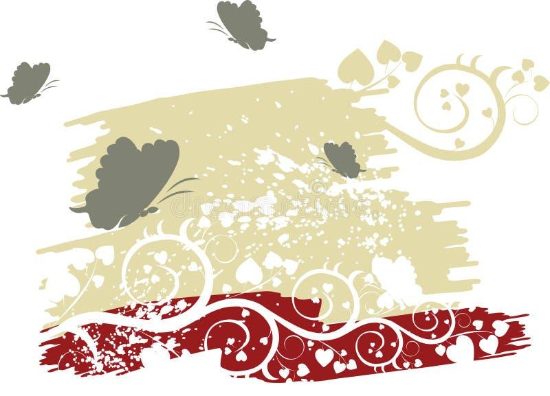 Valentijnskaarten vector illustratie