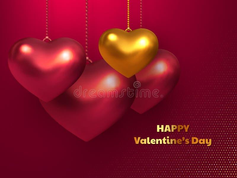 Valentijnskaartendag, concept van de huwelijks het decoratieve liefde vector illustratie