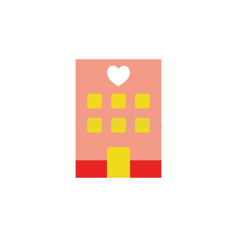 Valentijnskaartendag, romantisch pictogram Element van de dagpictogram van Webvalentine voor mobiele concept en webtoepassingen G vector illustratie
