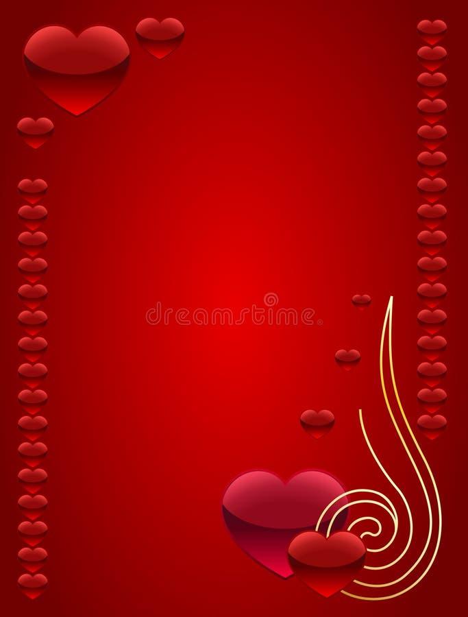Valentim ilustração royalty free