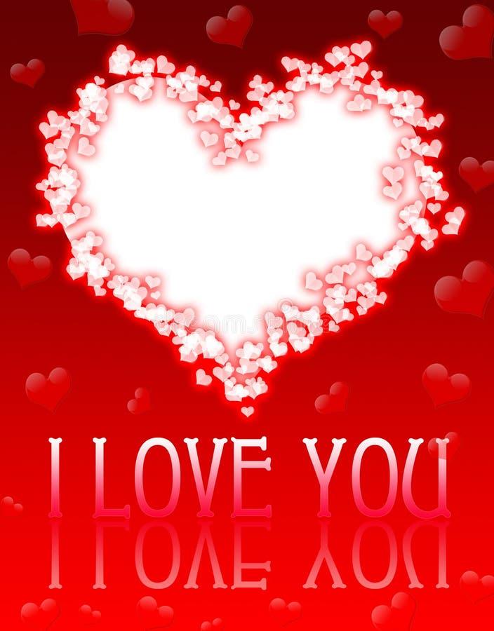 valentin дня s карточки бесплатная иллюстрация