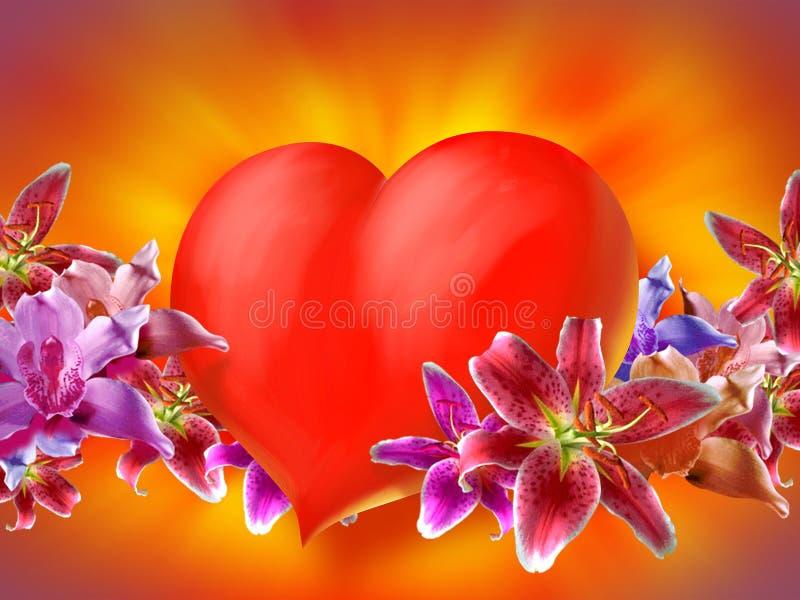 Download Valentin сердца иллюстрация штока. иллюстрации насчитывающей романтично - 484602