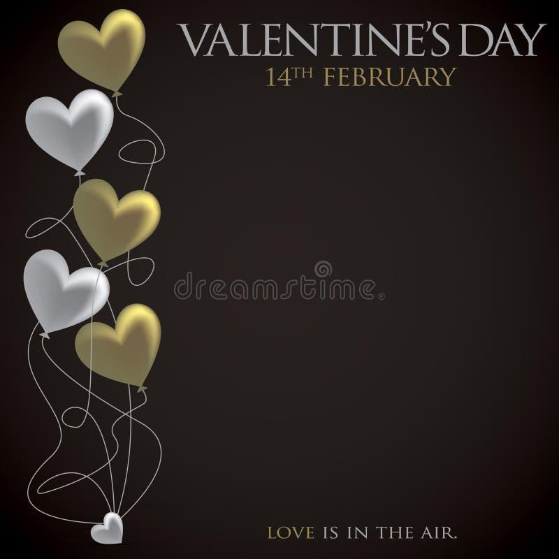 Valentin dag! stock illustrationer