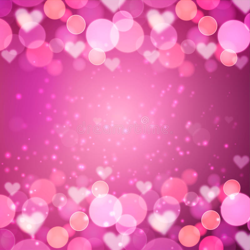 Valentin dagbakgrund vektor illustrationer