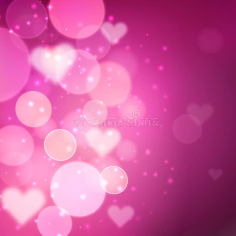 Valentin dagbakgrund royaltyfri illustrationer