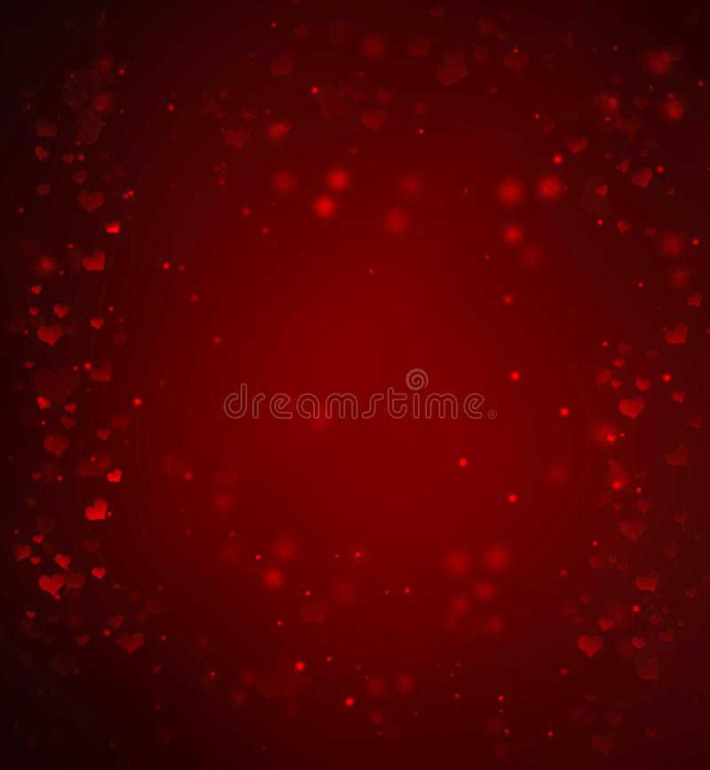 valentin för dag s Elegant romantisk bakgrund stock illustrationer