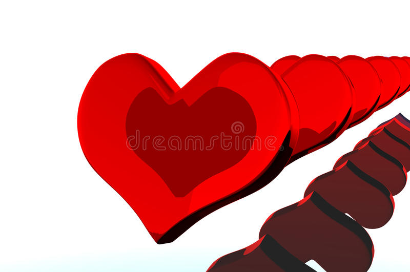 valentin för daghjärta s royaltyfri bild