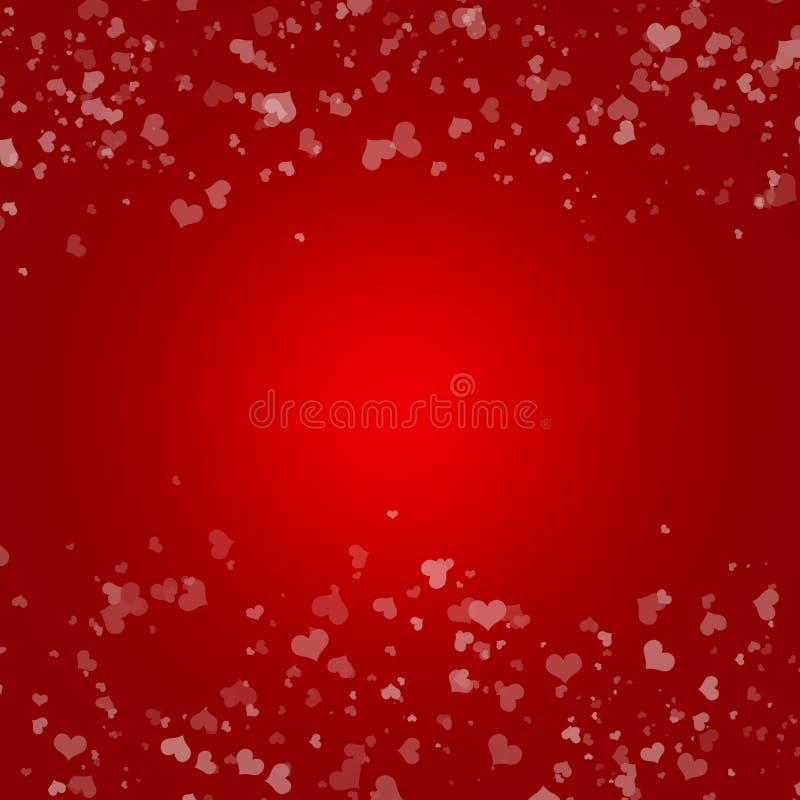 valentin för daghjärta s stock illustrationer