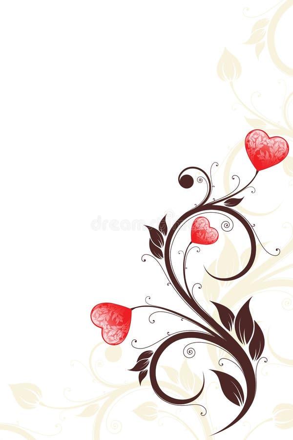 valentin för kortdag s royaltyfri illustrationer