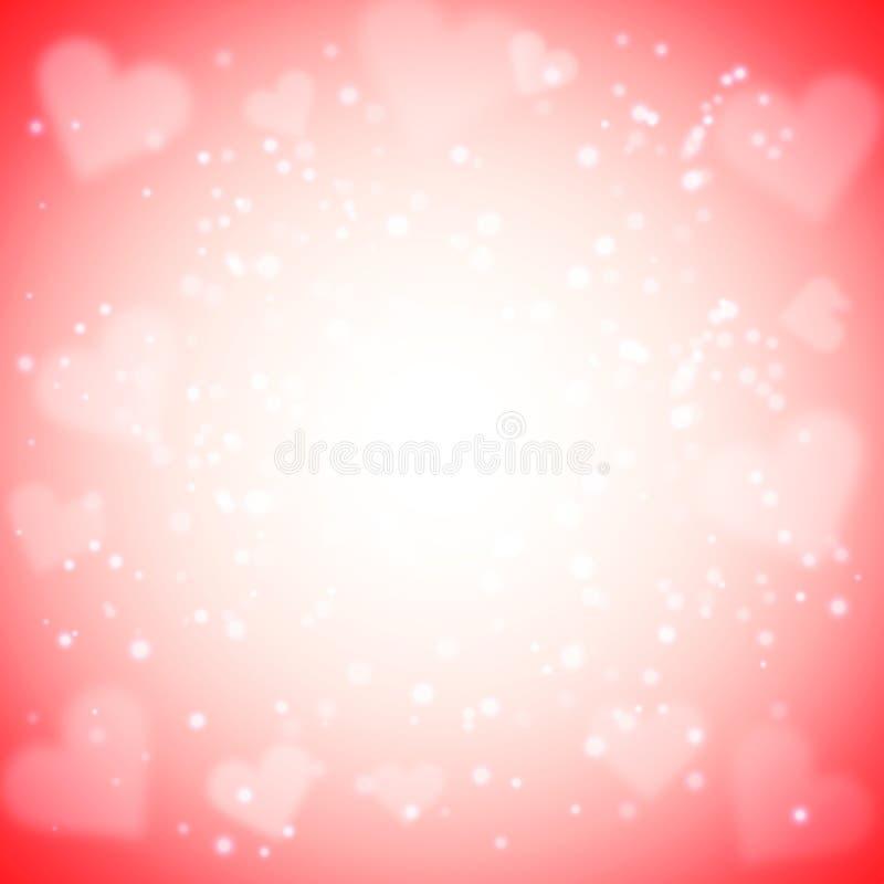 valentin för korthälsningshjärta s vektor illustrationer